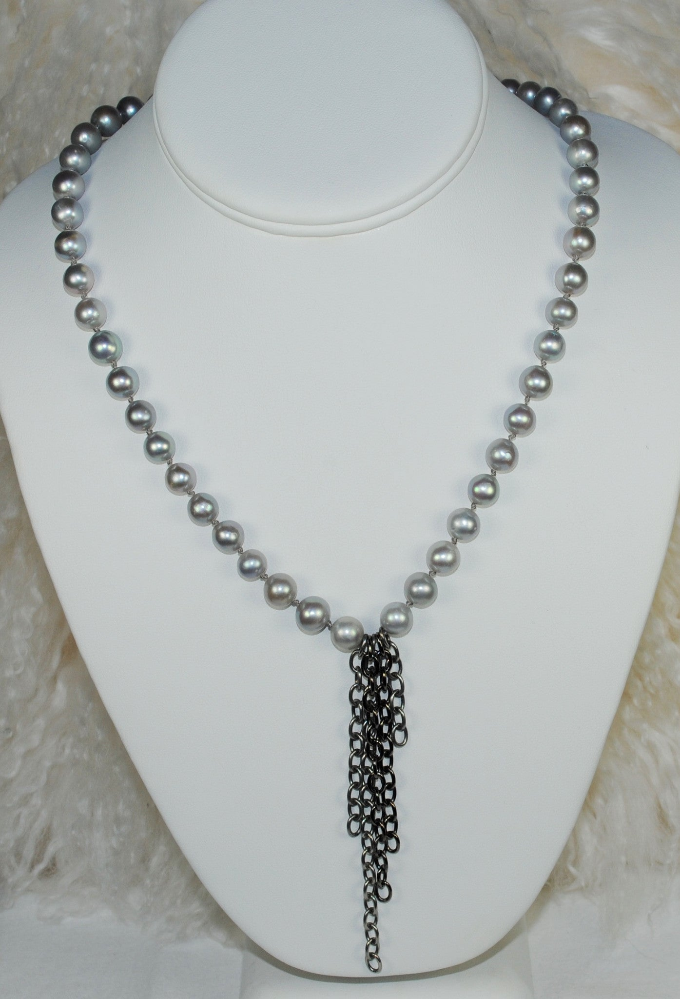 Pearls & Chains Necklace