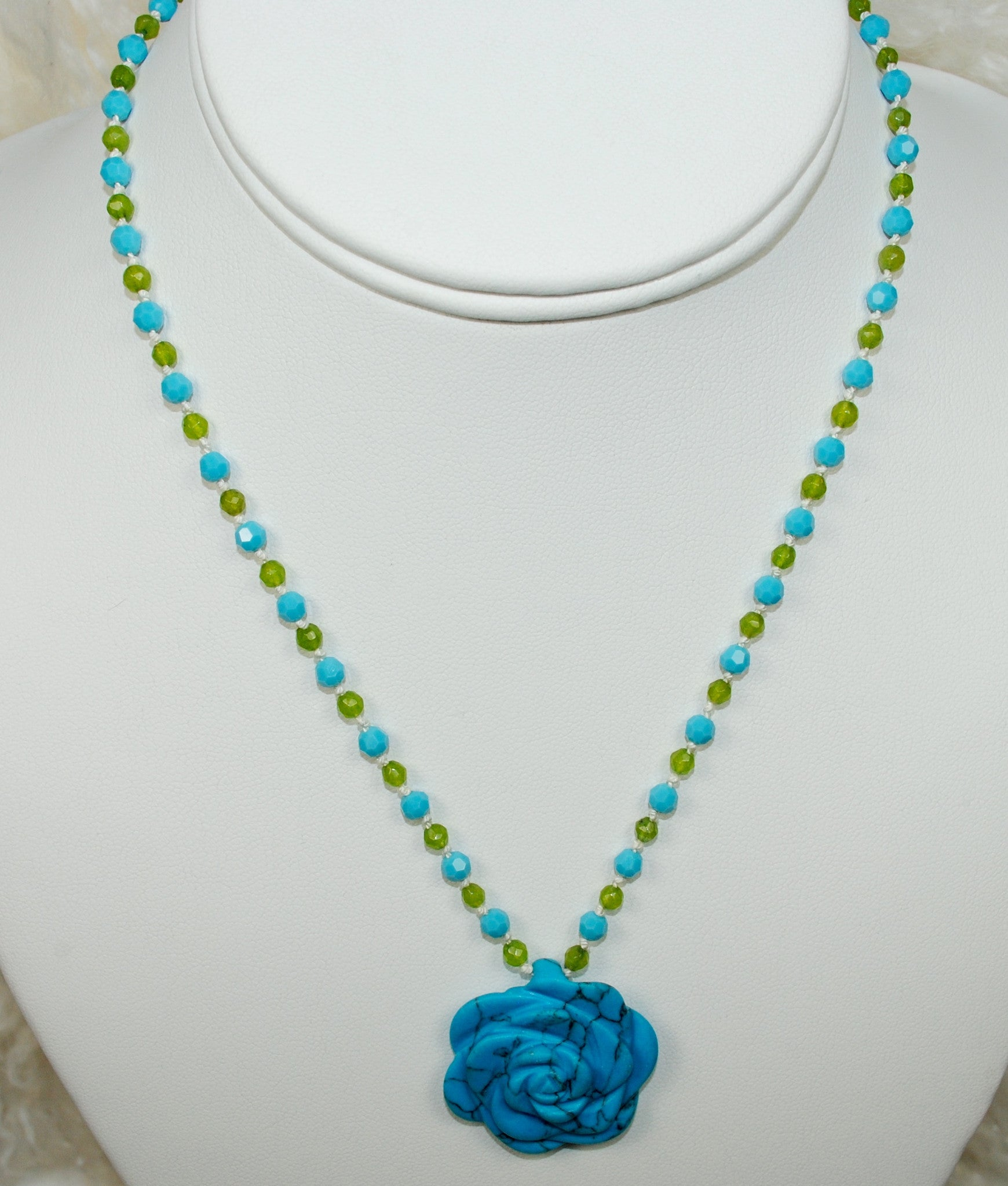 Turquoise and Citrine Necklace