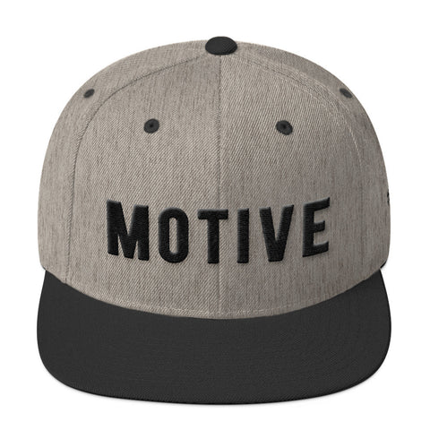 Motive Heather Gray Snapback
