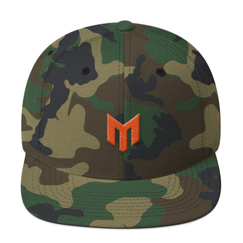 Motive Badge Camo Snapback
