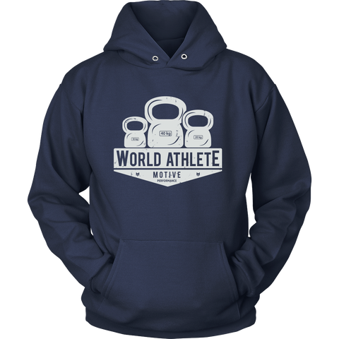 World Athlete Faded Hoodie (Light)