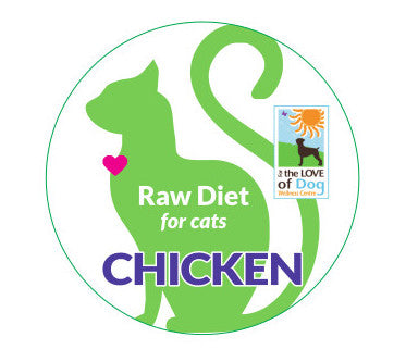 Cats - Chicken Raw To Cook (no bones) 1lb container