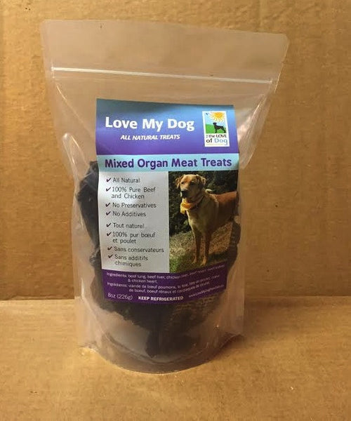Love My Dog Raw Diet - Dehydrated Mixed Organ Meat