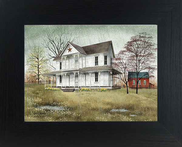 April Showers by artist Billy Jacobs BJ1039 - Summer Snow Art