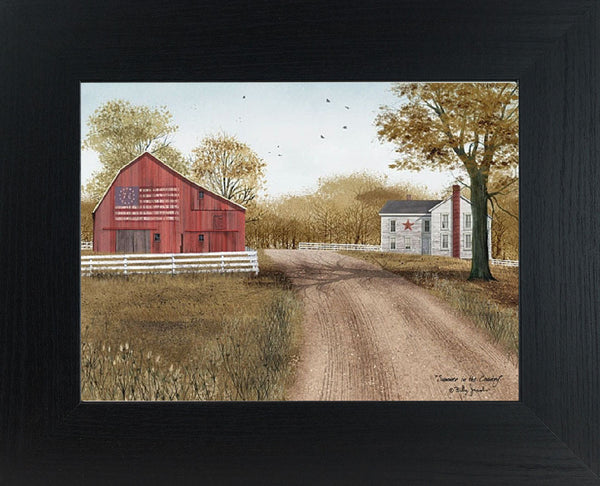 Summer in the Country by artist Billy Jacobs BJ1045 - Summer Snow Art