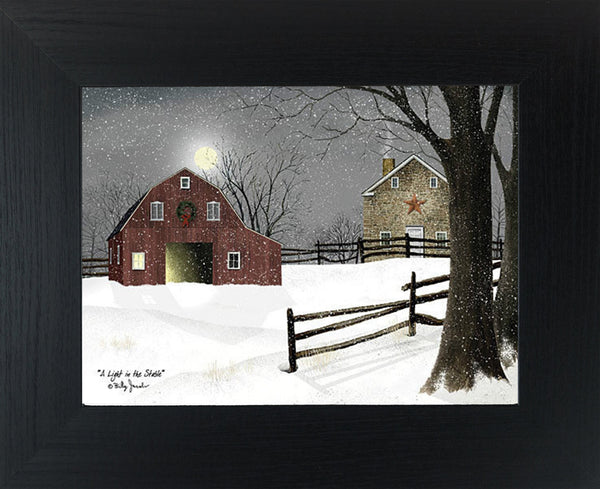 A Light in the Stable by Billy Jacobs BJ1068 - Summer Snow Art