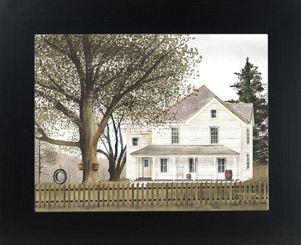 Grandma's House by artist Billy Jacobs BJ108 - Summer Snow Art