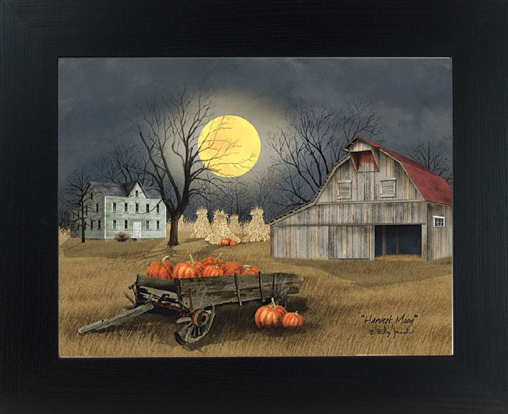 Harvest Moon by artist Billy Jacobs BJ1094 - Summer Snow Art