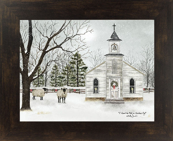 I Heard the Bells on Christmas Day by artist Billy Jacobs BJ1098 - Summer Snow Art