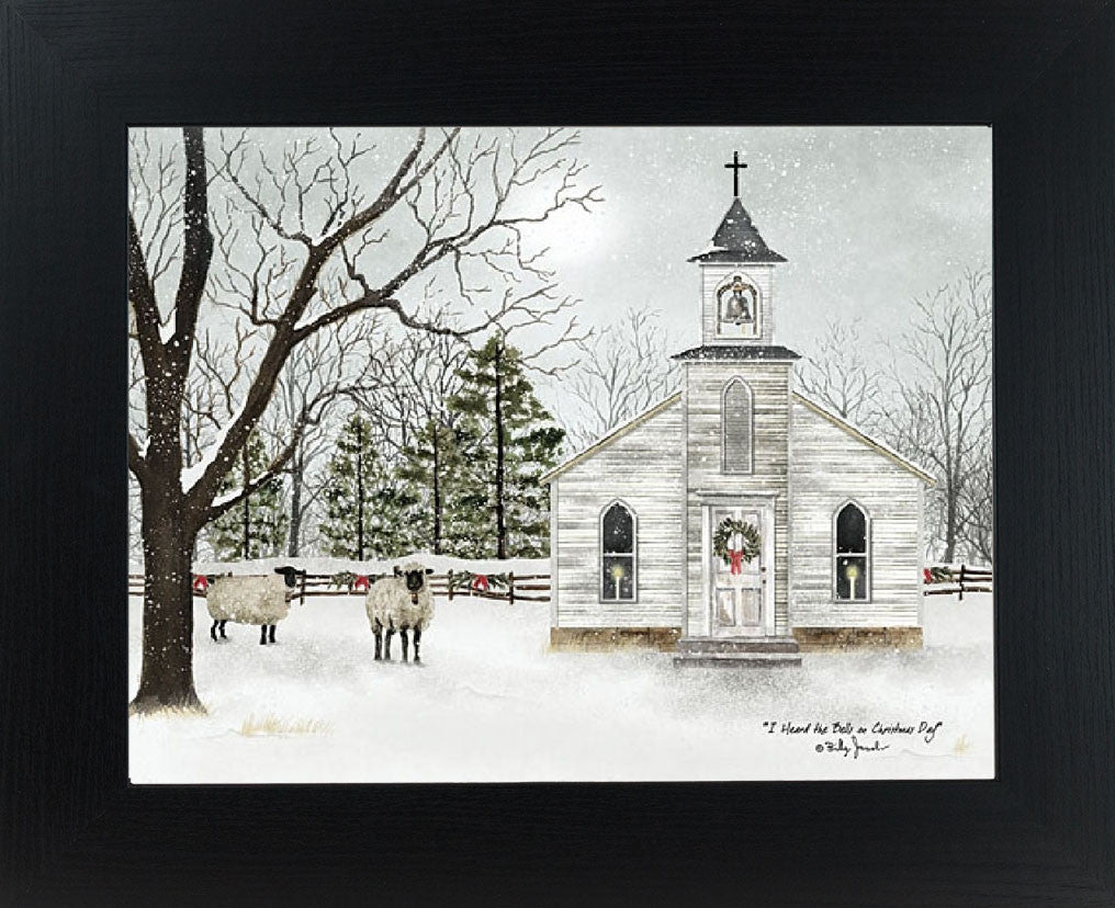 I Heard the Bells on Christmas Day by artist Billy Jacobs BJ1098