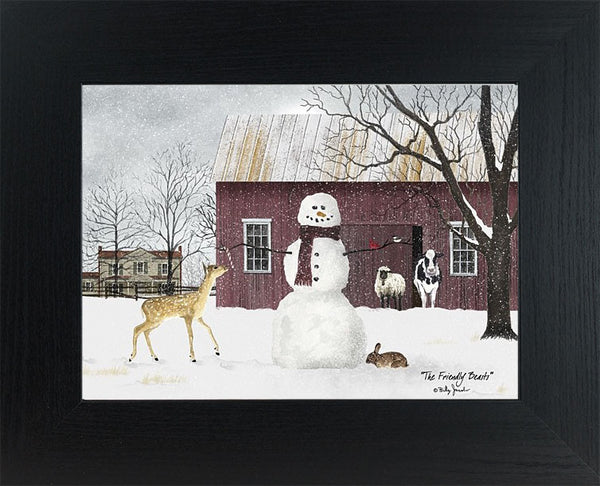 The Friendly Beasts by Billy Jacobs BJ1120 - Summer Snow Art