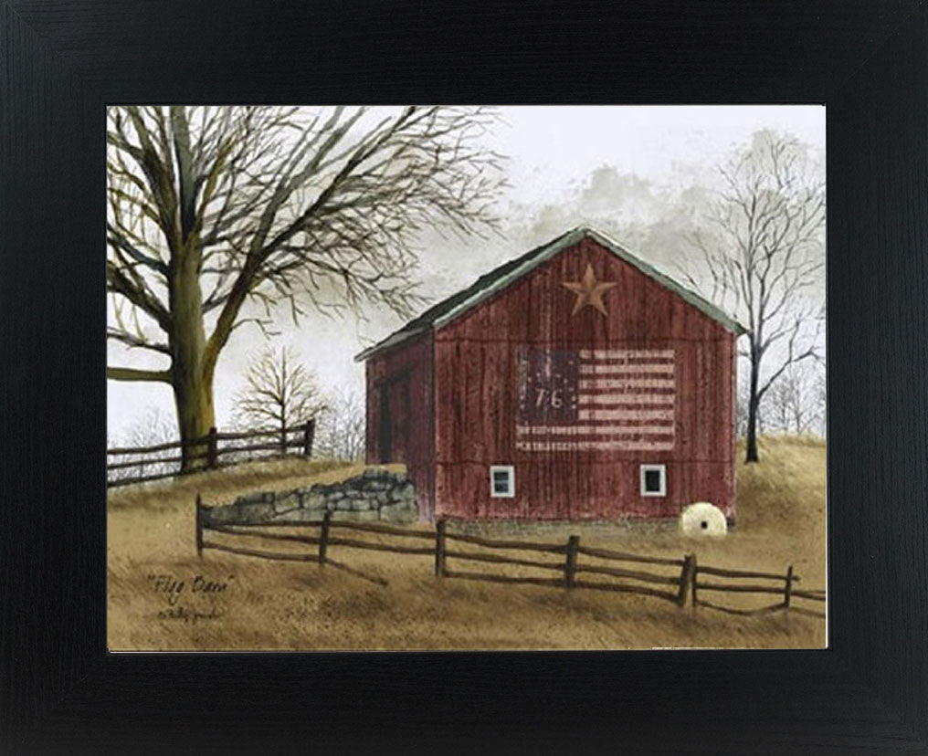 Flag Barn by artist Billy Jacobs BJ112