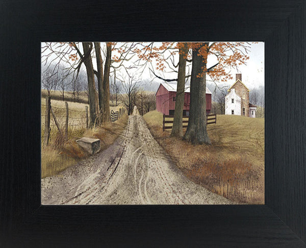 The Road Home by artist Billy Jacobs BJ143 - Summer Snow Art
