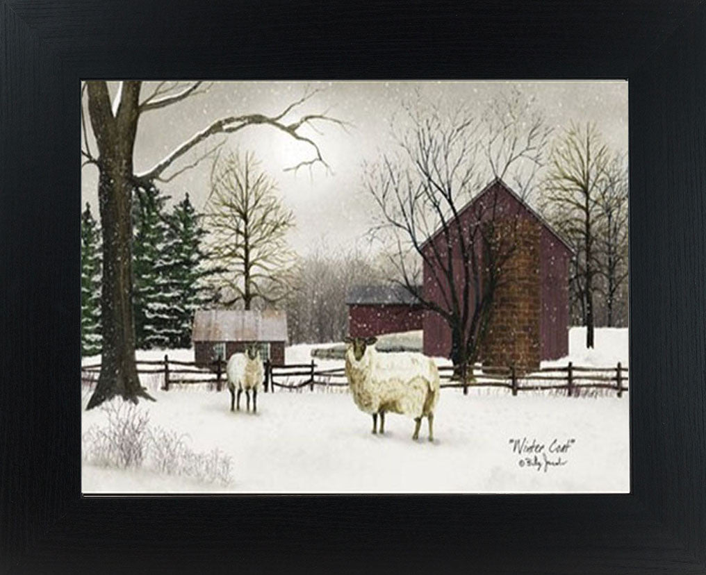 Winter Coat by artist Billy Jacobs BJ185 - Summer Snow Art