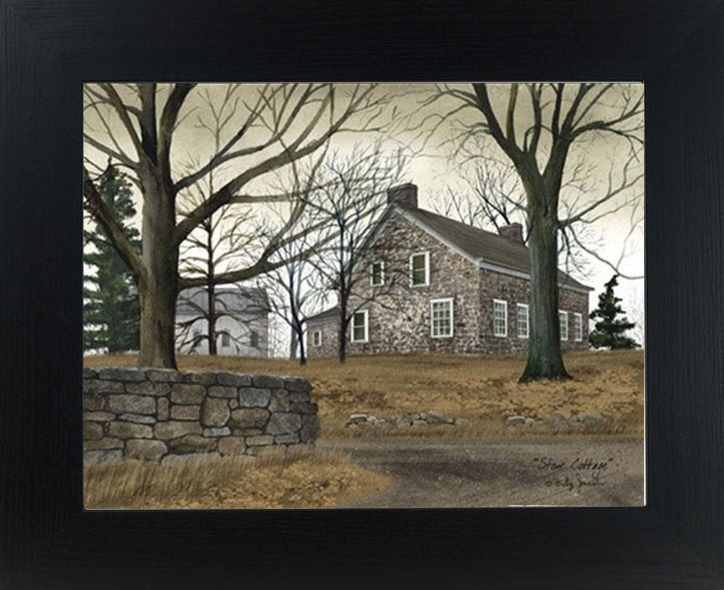 Stone Cottage by artist Billy Jacobs BJ200