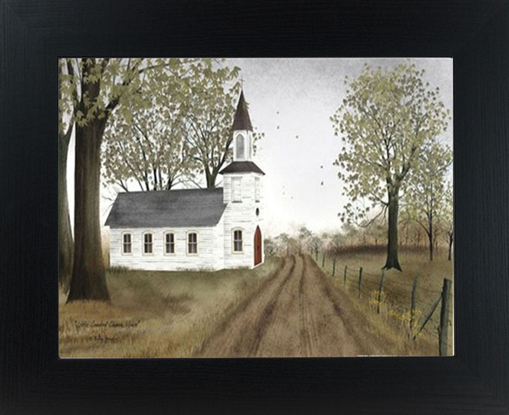 Little Country Church House by artist Billy Jacobs BJ198