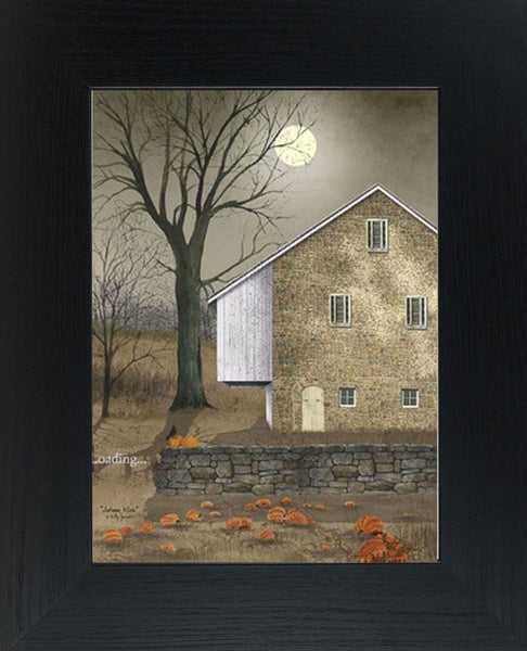 Autumn Moon by artist Billy Jacobs BJ212 - Summer Snow Art