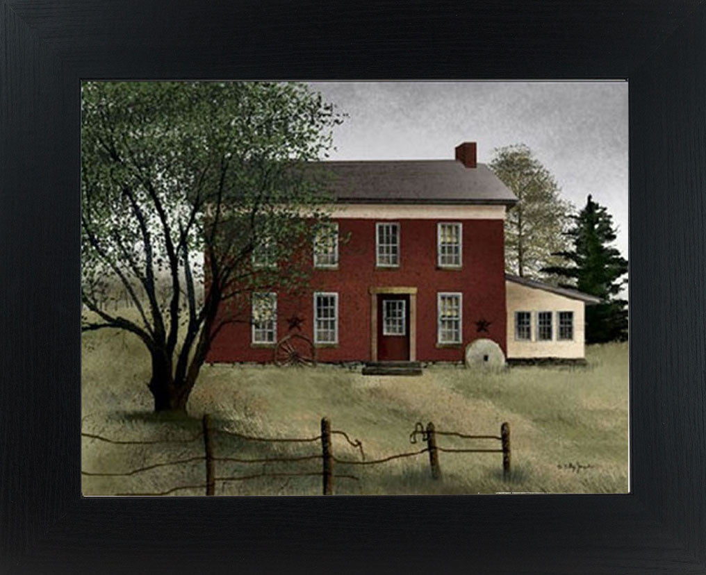 Old Brick Farmhouse by artist Billy Jacobs BJ221