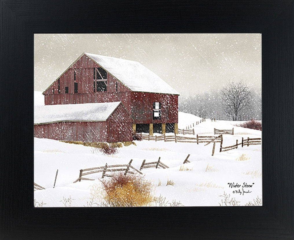 Winter Storm by artist Billy Jacobs BJ457