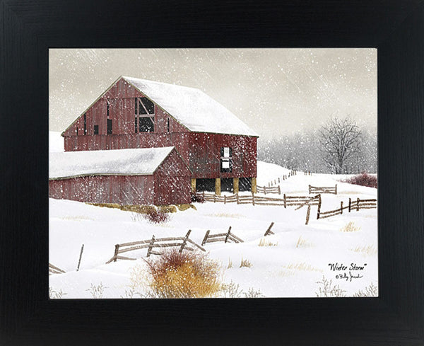Winter Storm by artist Billy Jacobs BJ457 - Summer Snow Art
