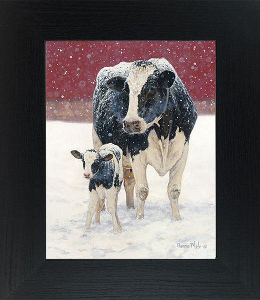 First Christmas by artist Bonnie Mohr COW146