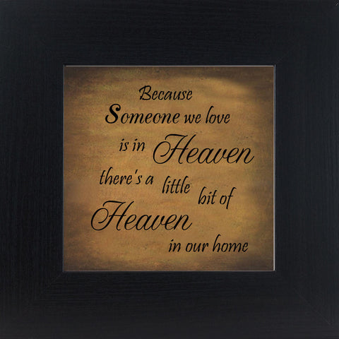 Because Someone is in Heaven Gold Primitive GP558