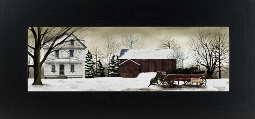 Christmas Trees For Sale by artist Billy Jacobs BJ116 - Summer Snow Art