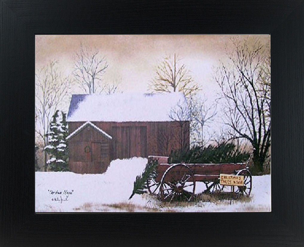 Christmas Tree Wagon by artist Billy Jacobs BJ154