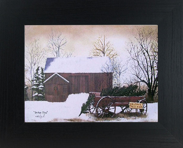 Christmas Tree Wagon by artist Billy Jacobs BJ154 - Summer Snow Art