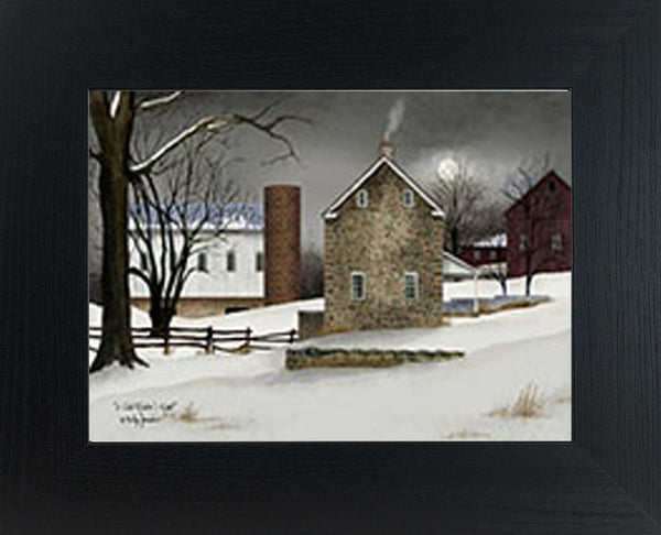 A Cold Winter's Night by artist Billy Jacobs BJ190 - Summer Snow Art