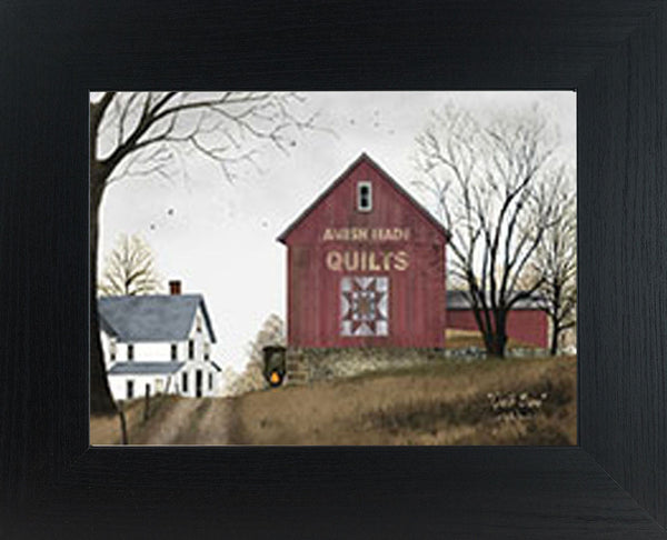 Quilt Barn by artist Billy Jacobs BJ191 - Summer Snow Art