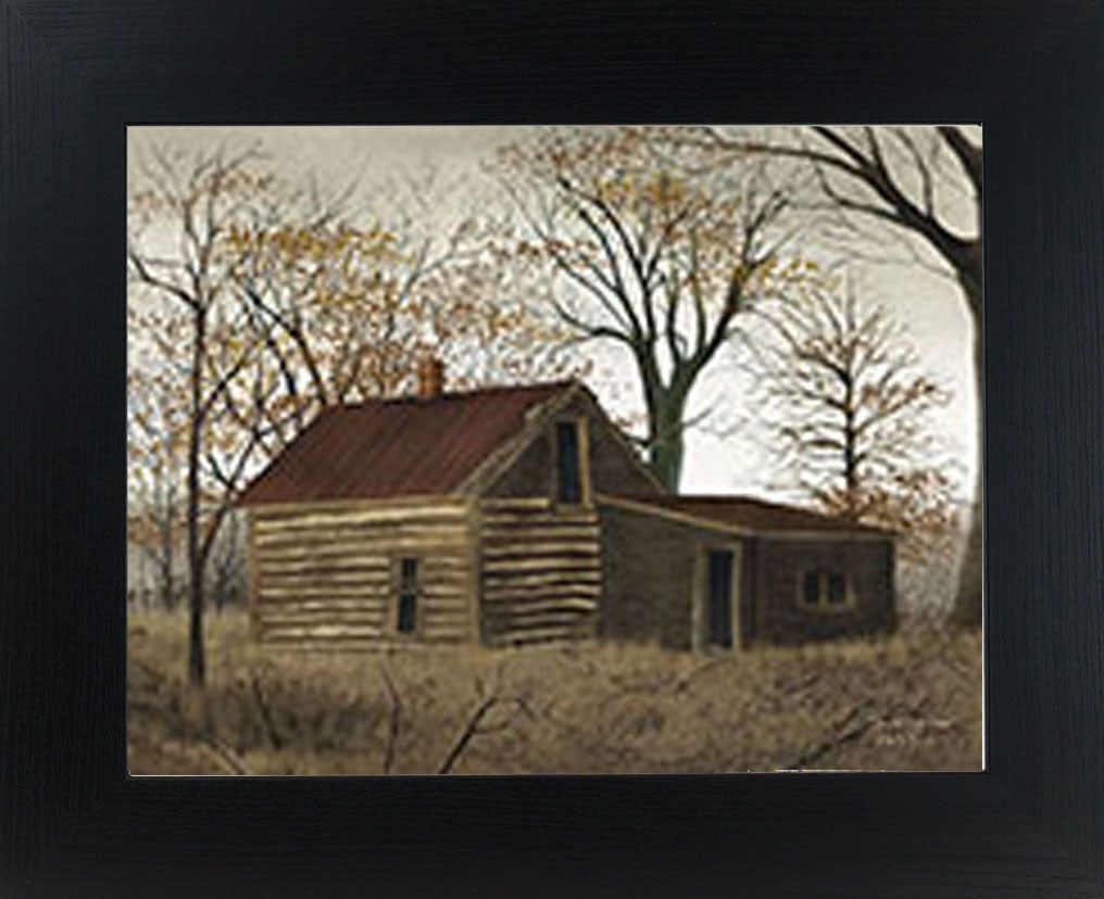 The Old Log Home by artist Billy Jacobs BJ426
