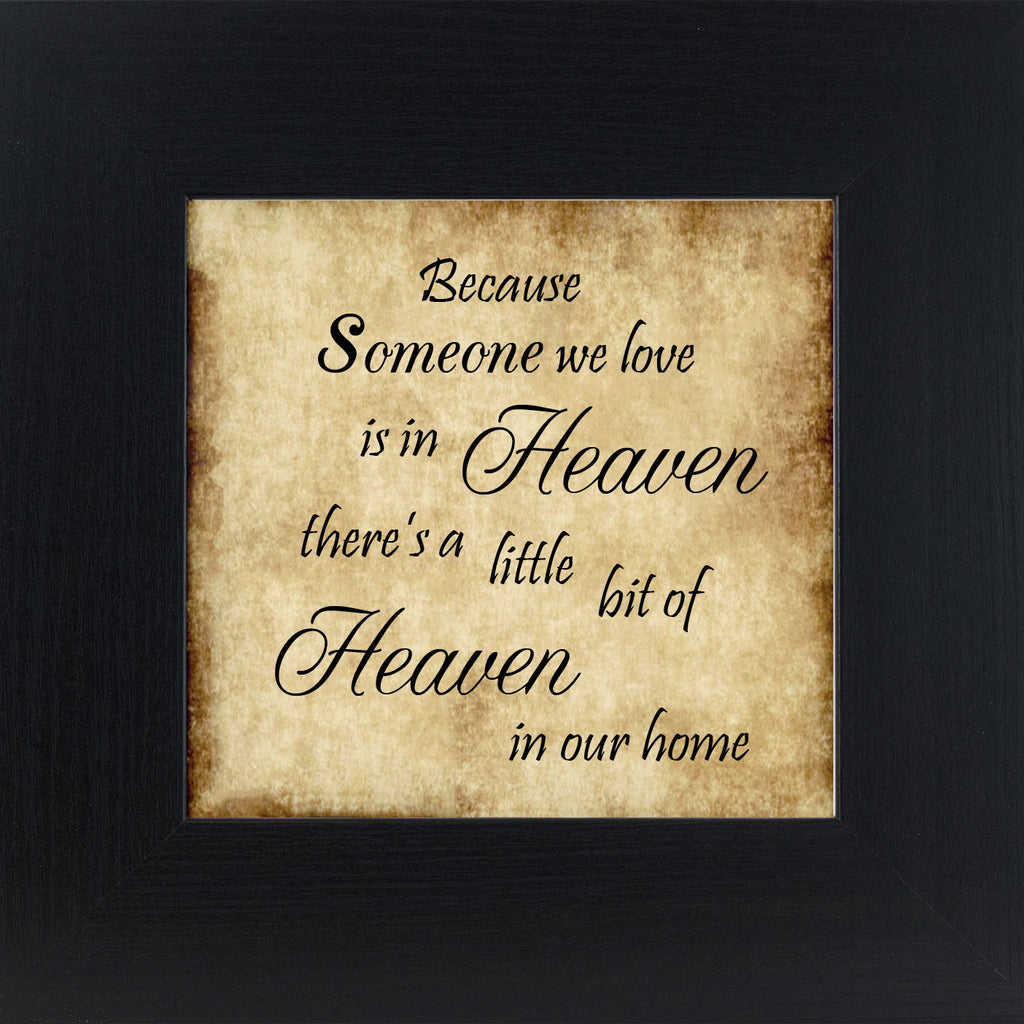 Because Someone is in Heaven Parchment PAR023