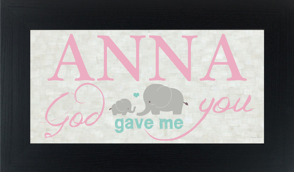 God Gave Me You personalized PERS002 - Summer Snow Art