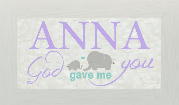 God Gave Me You personalized PERS004 - Summer Snow Art