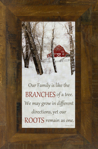 Our Family Barn SS1314 - Summer Snow Art