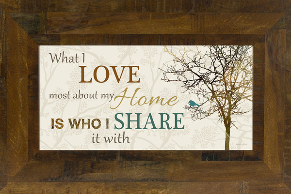 What I Love Most About My Home Twig Tree SS1492
