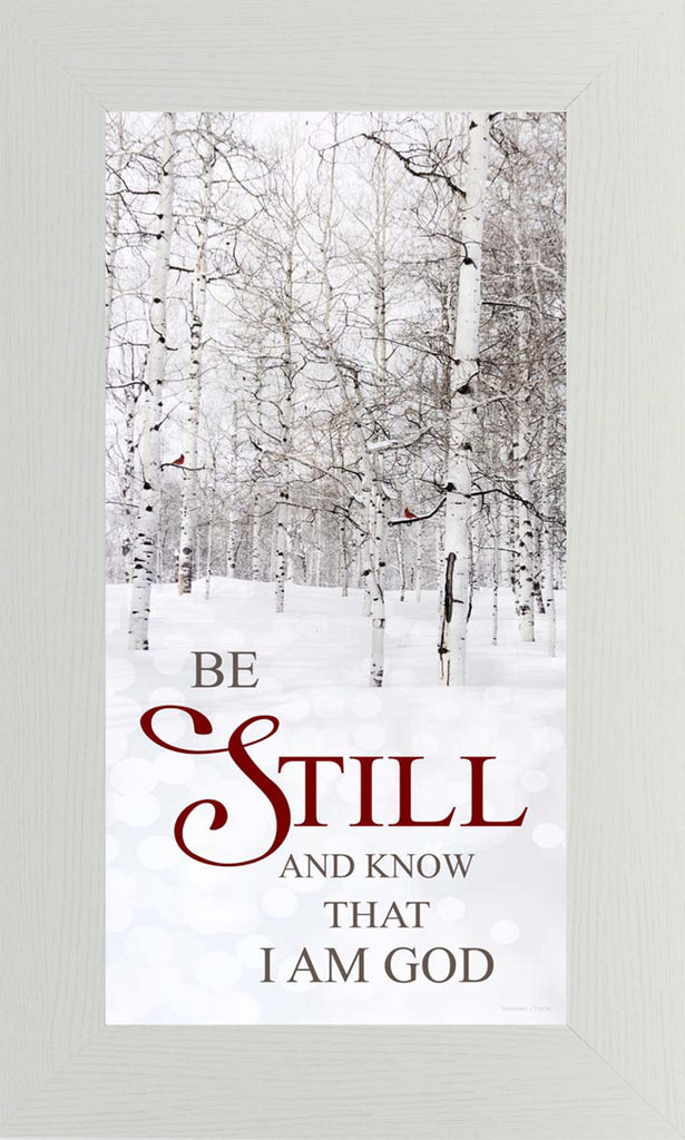 Be Still and Know that I Am God SS1580 - Summer Snow Art