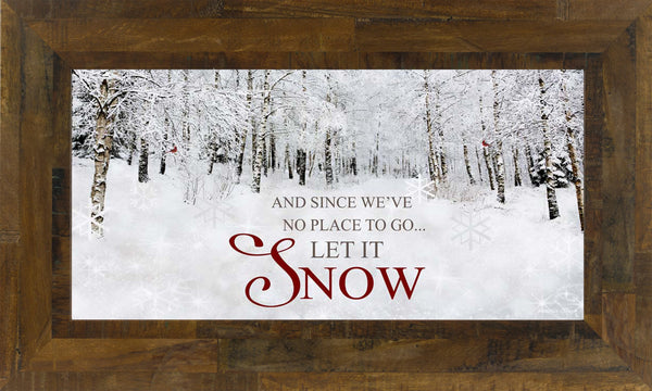 And Since We've No Place to Go...SS1581 - Summer Snow Art