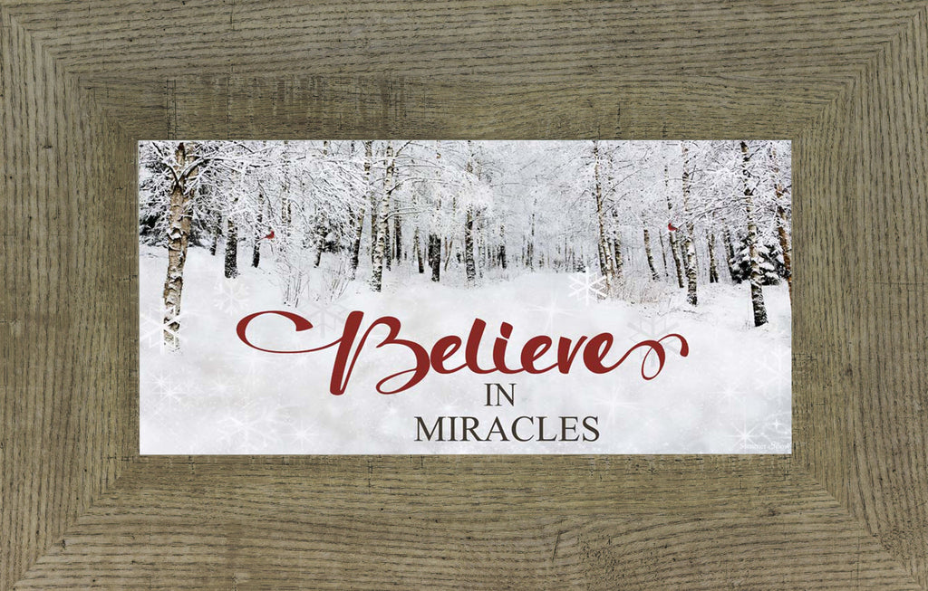 Believe in Miracles SS1582