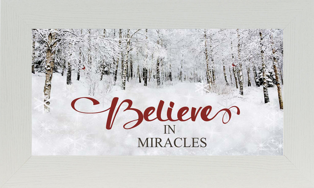 Believe in Miracles SS1582 - Summer Snow Art