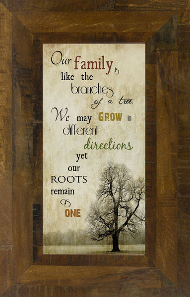 Our Family is like the Branches of a Tree SS5405 - Summer Snow Art