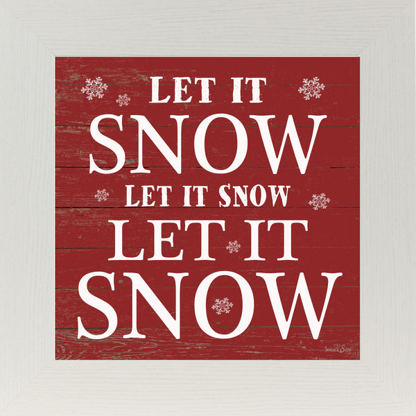 Let It Snow Red SS6736 - Summer Snow Art
