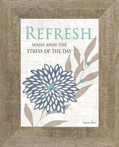 Refresh Wash Away the Stress of the Day SS9701