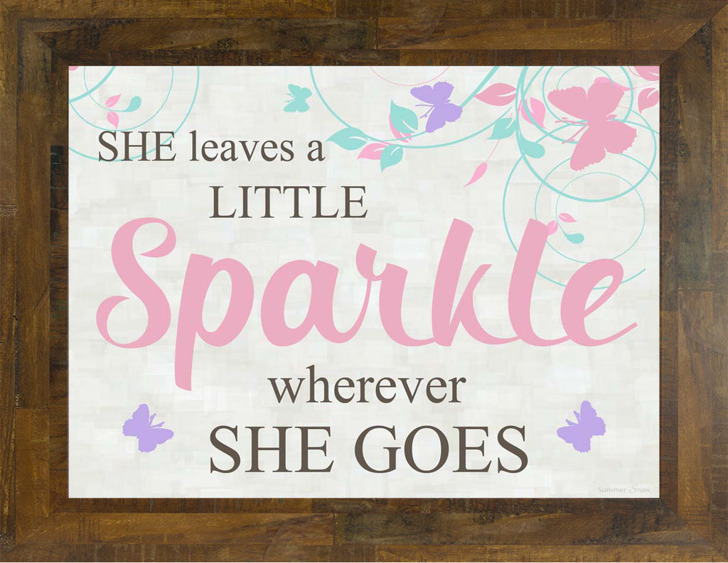 She Leaves a Little Sparkle SS9784
