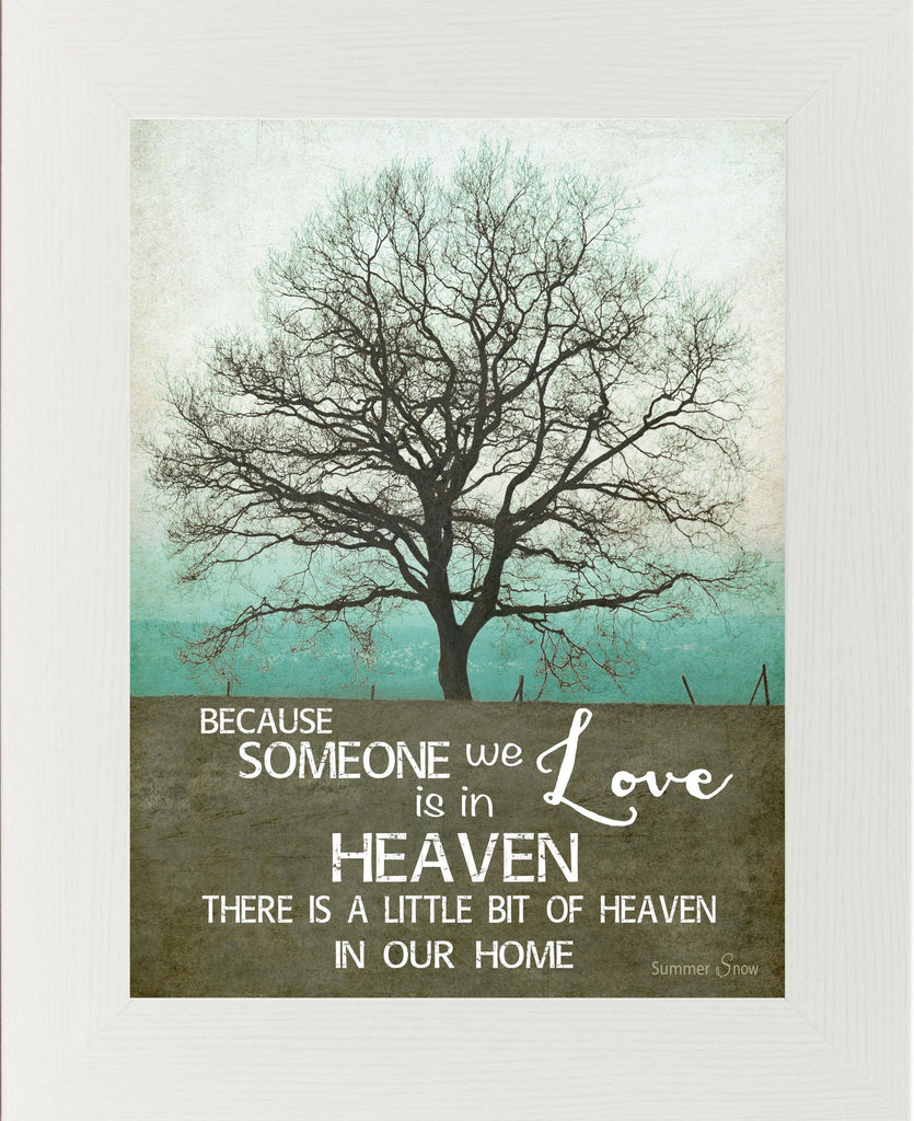 Because Someone You Love is In Heaven Teal SS9854