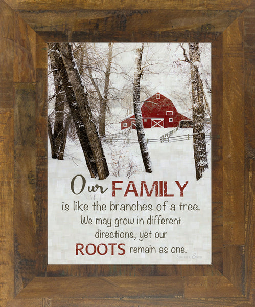Our Family Barn SS9868 - Summer Snow Art