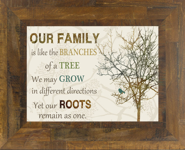 Our Family is Like the Branches of the Tree SS9998