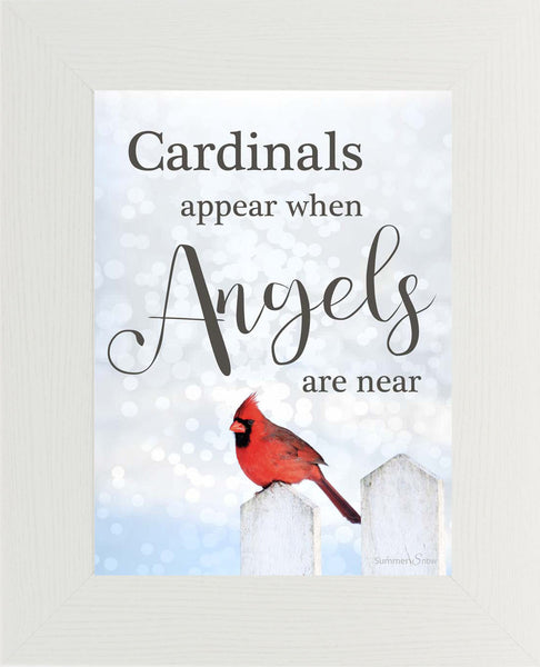 Cardinals Appear When Angels are Near SSA002