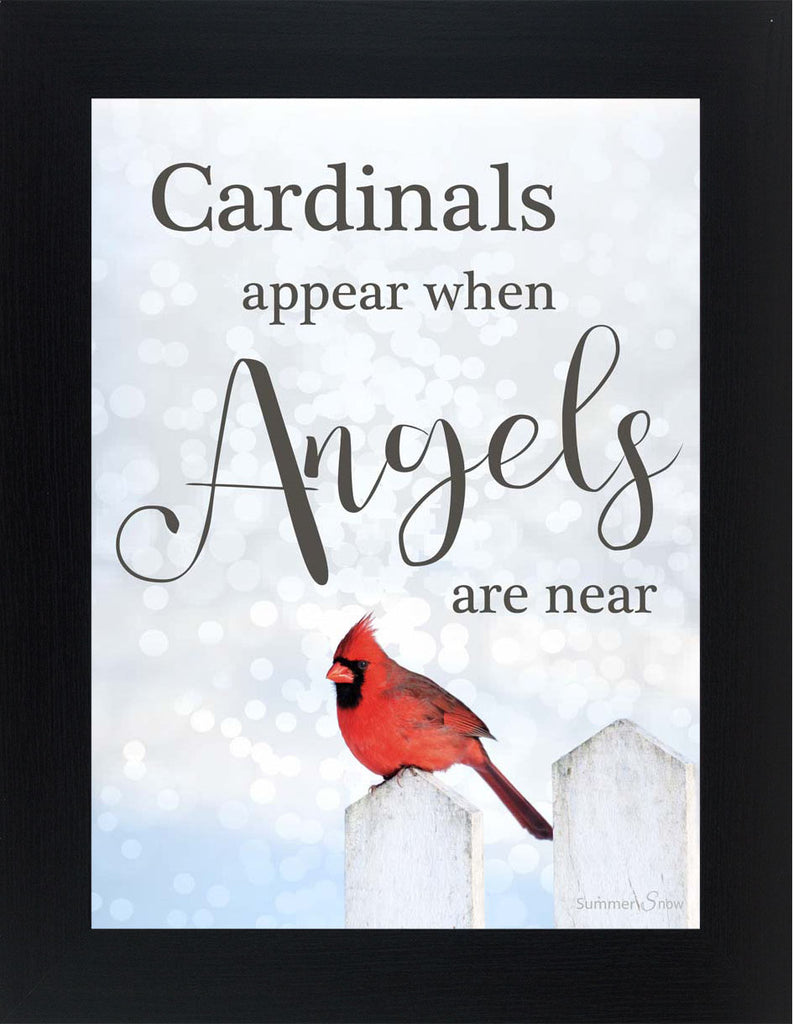 Cardinals Appear When Angels are Near SSA002 - Summer Snow Art